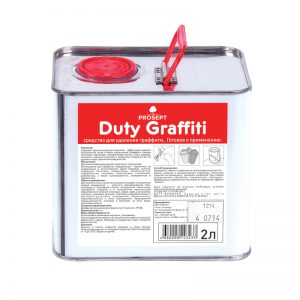 Duty Graffiti средство для удаления граффити 2л.